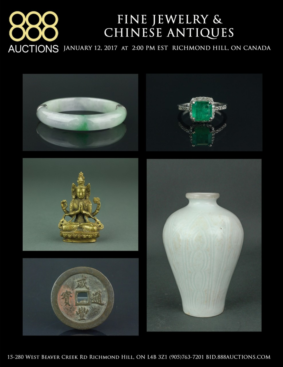 THURSDAY 12 JANUARY 2017 FINE JEWELRY & CHINESE ANTIQUES