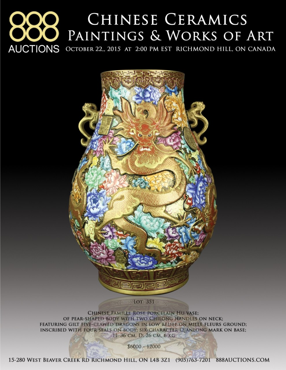 NEXT AUCTION 22 OCT 2015 CHINESE CERAMICS, PAINTINGS & WORKS OF ART