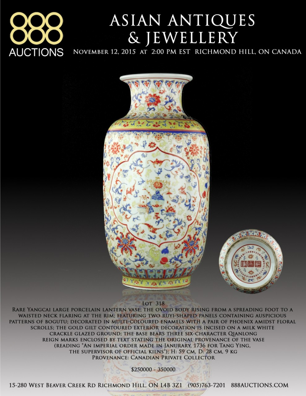 NEXT AUCTION 12 NOV 2015 ASIAN ANTIQUES & JEWELLERY